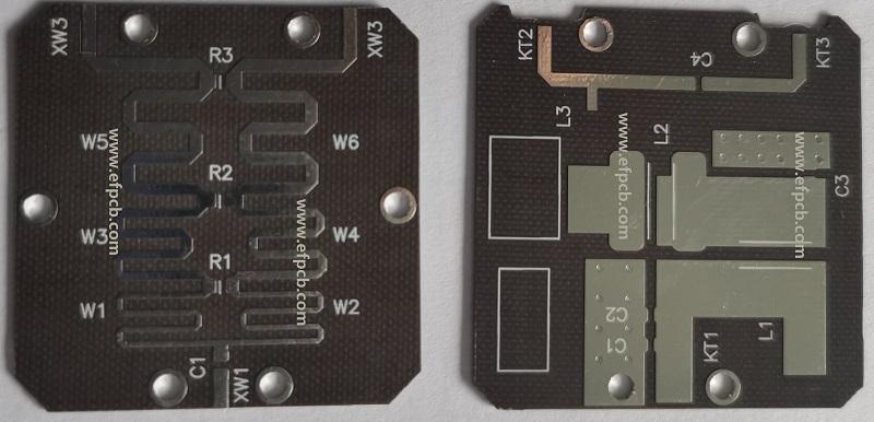 MICROWAVE PCB, RADIO FREQUENCY PCB, TLY-8 PCB, F4BM255 PCB, LOW DK PCB